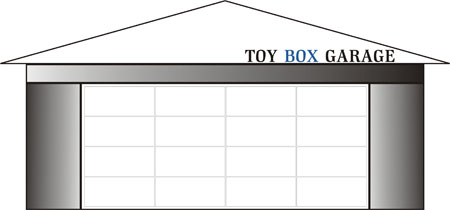 Toy Box Garage